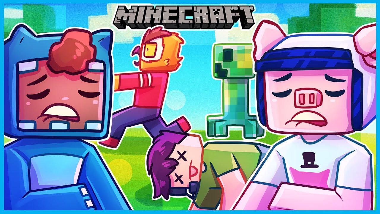 Minecraft moments that make you go SHEEEEEEESH...