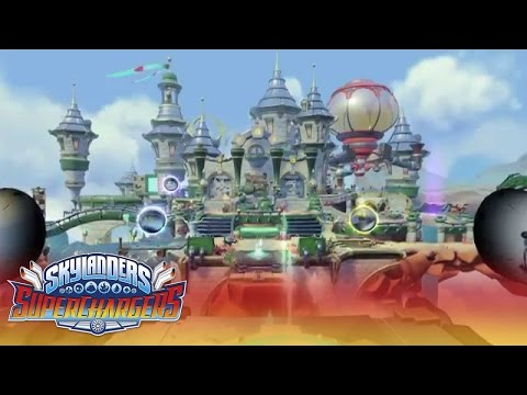 Official Skylanders SuperChargers: Overview