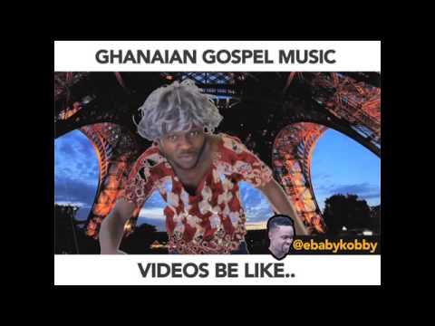 GHANAIAN MUSIC VIDEOS BE LIKE - Ebaby Kobby (African Comedy)