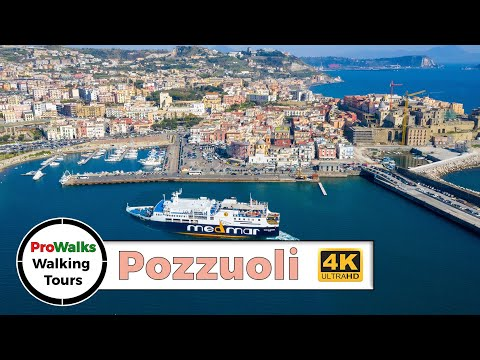 Pozzuoli, Italy Virtual Treadmill Walk