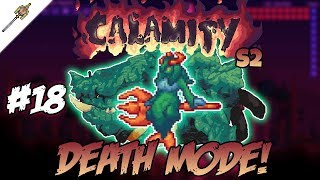 Leviathan D-Mode Boss Battle! Calamity Mod ||Episode 18 - Season 2||
