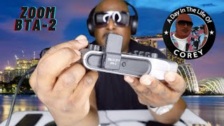 The Zoom BTA-2 Bluetooth Adapter, Podtrak P4 Necessity??? | A Day In The Life of Corey