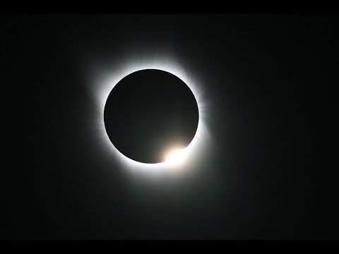 Live view of the solar eclipse from Lincoln, Nebraska