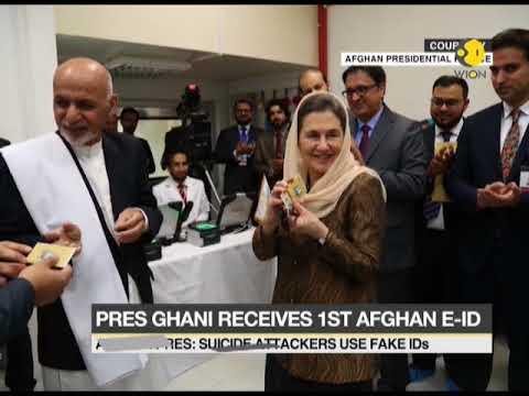 Afghan President Ashraf Ghani launches country's e-ID scheme