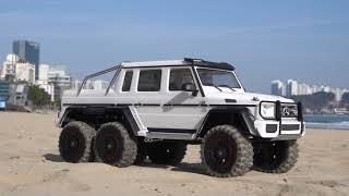 1/10 TRX-6 Mercedes Benz G63 AMG 6x6 White Off Road | #2
