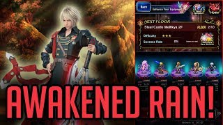 Awakened Rain Arrives!  Item World As Well! - [FFBE] Final Fantasy Brave Exvius