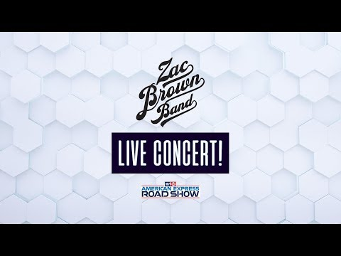 NBA on TNT American Express Road Show | Zac Brown Band LIVE