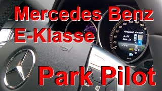 Mercedes Benz E250 Aktiver Park Pilot: Vollautomatisches Einparken!(, 2014-01-25T23:24:44.000Z)