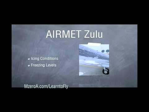 Learn to Fly - What are the 3 Types of AIRMETS