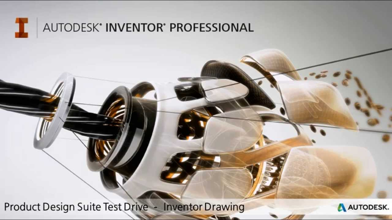 product design suite test drive drawing creation inventor youtube. Black Bedroom Furniture Sets. Home Design Ideas