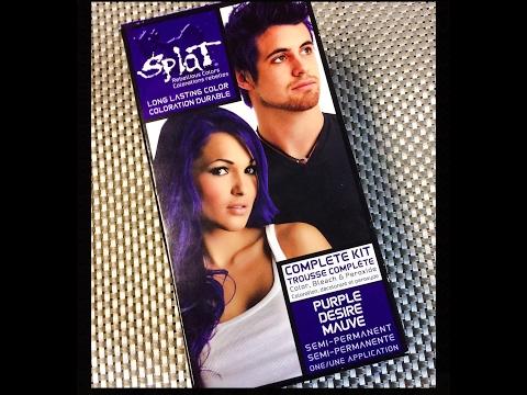 """DIY: Purple Desire """" SPLAT"""" Hair Tutorial"""