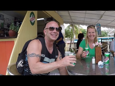A day at Varadero, Cuba. Josone Park, Market, restaurants, bar