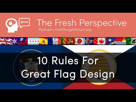 10 Rules For Great Flag Design • How To Make A Flag, Vexillology, And A Possible New Utah State Flag