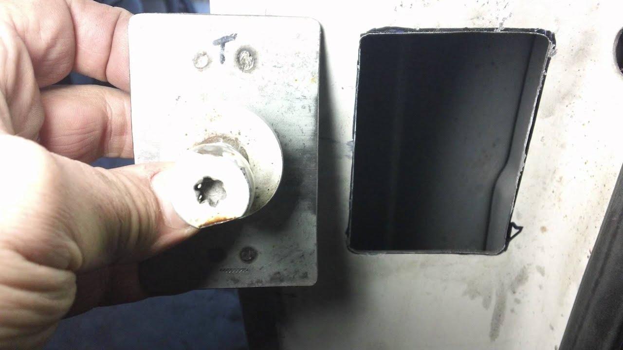 K5 Blazer Door Strike Repair Youtube