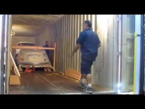 Rotterdam Amsterdam Netherlands Car Shipping Direct Express Inc loading 45 hc container-C