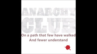 Anarchy Club - A Single Drop Of Red (The Gentlemen) [Lyrics / ᴴᴰ1080p]