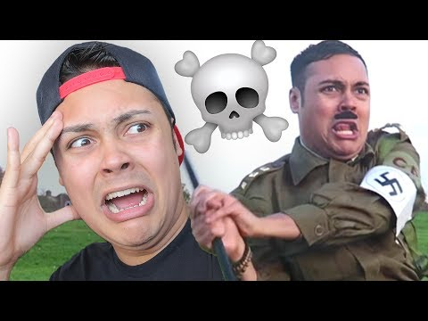 REACTING TO HITLER IN PUBLIC !!! 💀 (Reacting to OLD VIDEOS)