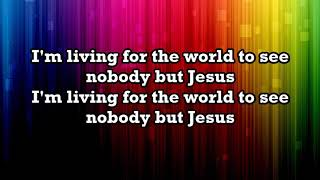 Casting Crowns - Nobody (feat. Matthew West) Lyrics