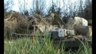 3838-1 RC Battle Tank with smoking effects