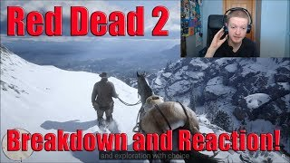 Red Dead Redemption 2 Gameplay Trailer 2 Reaction And Breakdown