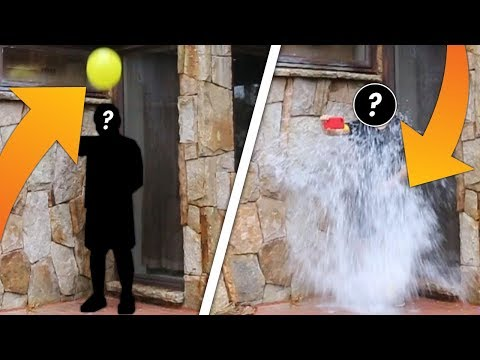 Murder Mystery 1v1 | LOSER GETS HIT WITH HUGE WATER BALLOON!