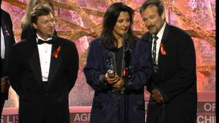 """Golden Globes 1994 """"Mrs  Doubtfire"""" Best Motion Picture Musical or Comedy"""