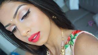 Indian Wedding Guest / Bridesmaids Summer Makeup Tutorial