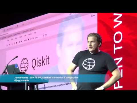 Jay Gambetta demos Qiskit, and dev toolkit for quantum computing