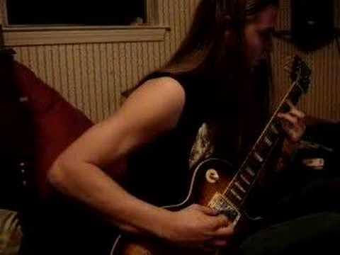 Lamb Of God-----Laid to Rest------ cover by Brandon Carroll