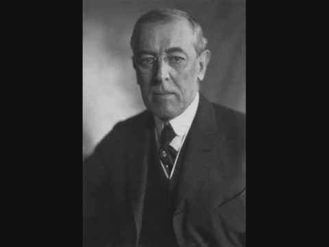 1912 US Election Campaign Speech Audio - Woodrow Wilson 1 of 6