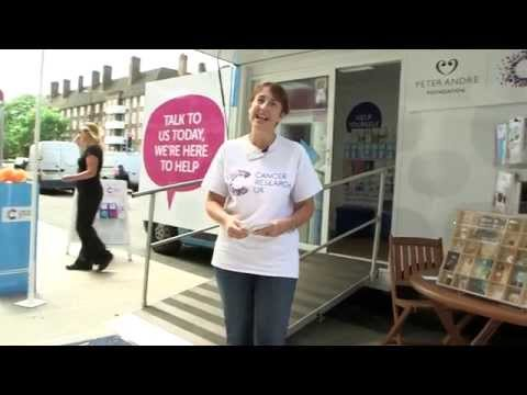 What happens at the Cancer Awareness Roadshow?