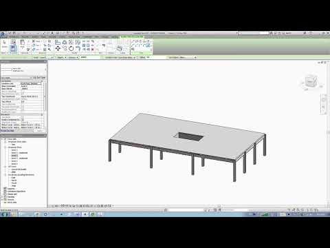 Week 11 Autodesk Revit export to Robot  structural analysis