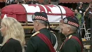 Canadians mourn at funeral of soldier Nathan Cirillo slain in Ottawa