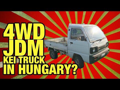 🇭🇺 Car spotting: JDM kei truck in Hungary!