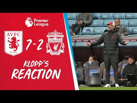 Jürgen Klopp's honest reaction to Liverpool's 7-2 defeat at Aston Villa   Plus ALISSON injury update