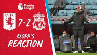 Jürgen Klopp's honest reaction to Liverpool's 7-2 defeat at Aston Villa | Plus ALISSON injury update