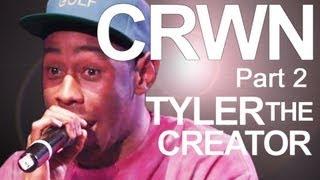 CRWN w/ Elliott Wilson Ep. 1 Pt. 2 of 4: Tyler, The Creator