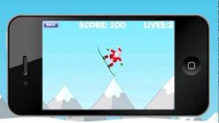 Big Air Santa: Snowboard Xtreme iPhone app