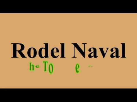 RODEL NAVAL -  Narration by Wikipedia