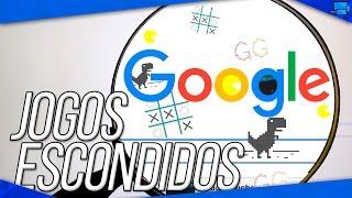 5 Jogos Escondidos no Google