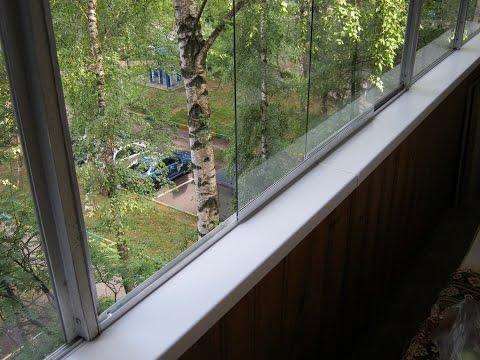 Как самому сделать раздвижные окна