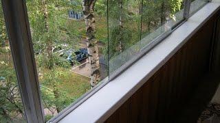 Раздвижное остекление на балконе, своими руками