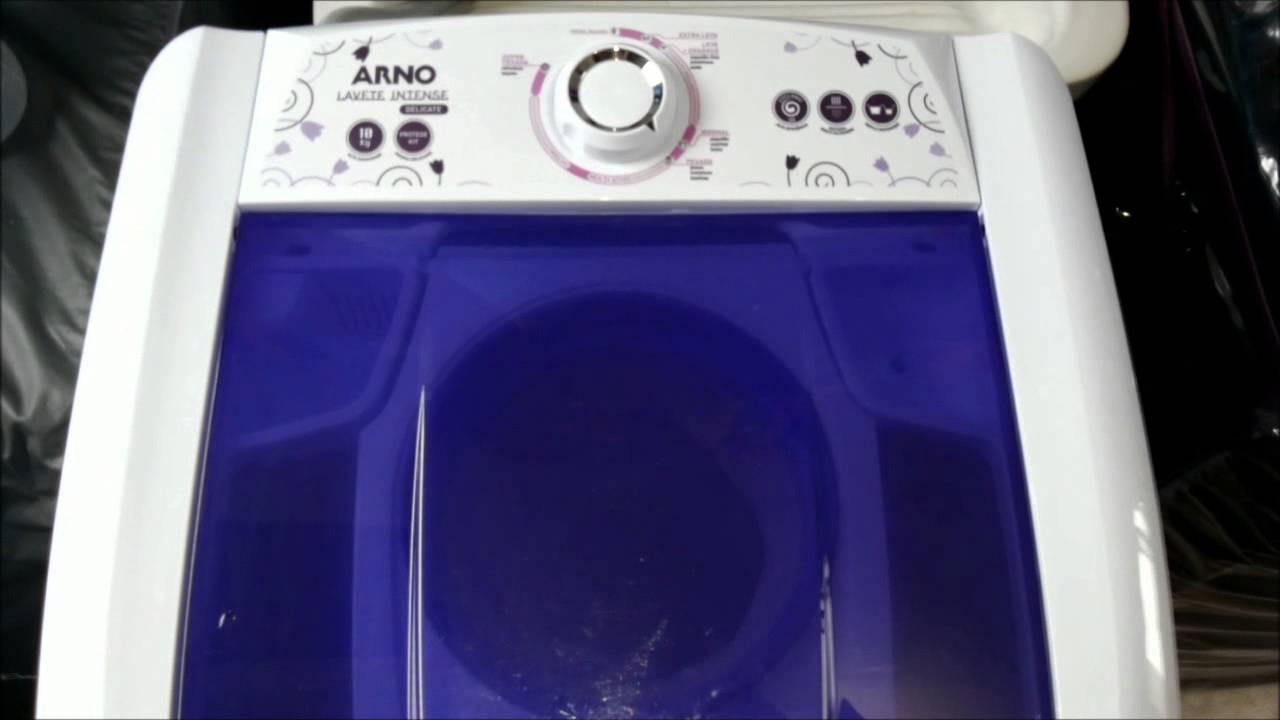 7720abbf21 Lavadora Arno Lavete Intense Delicate 10 kg (ML61) - Roupas coloridas -  YouTube