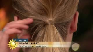 Fyra frisyrer du lätt fixar själv! - Nyhetsmorgon (TV4)