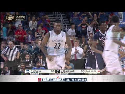 MBB Championship Highlights - UConn 104, Cincinnati 97