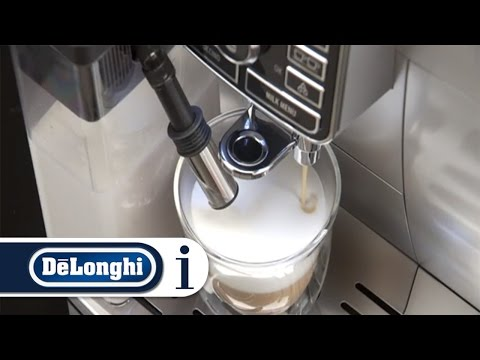 How to make cappuccino with your De'Longhi ECAM 25.462 coffee machine