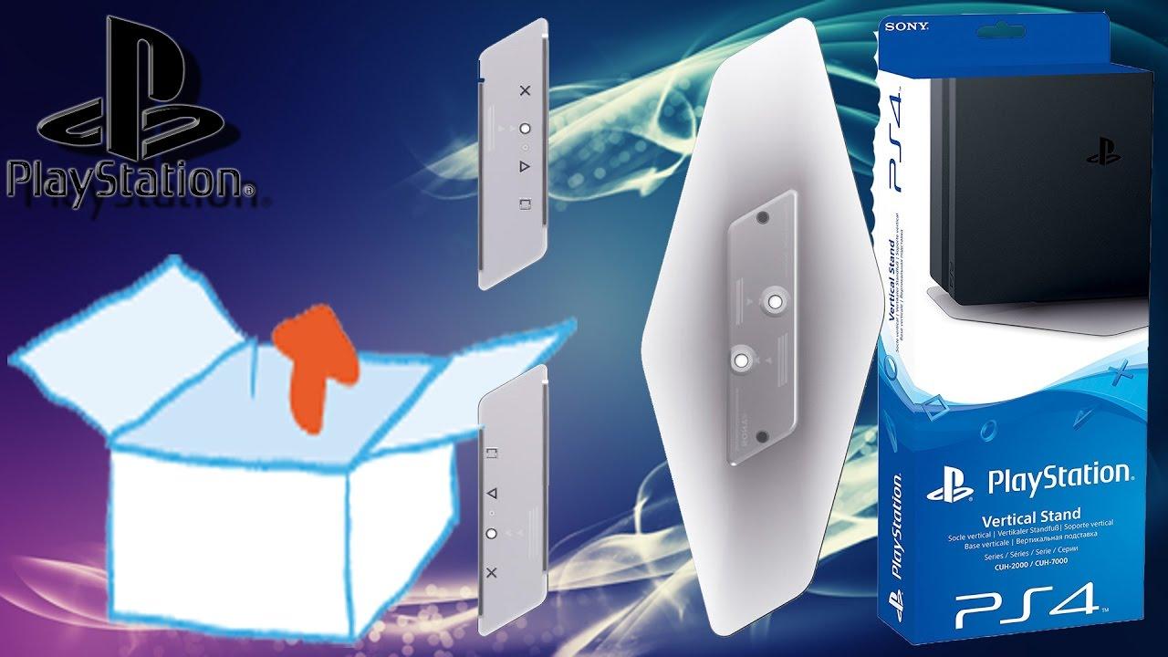 Unboxing - PS4 Pro/Slim Vertikaler Standfuß [PlayStation 4, deutsch ...