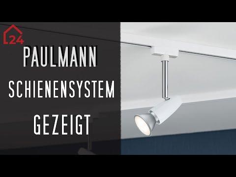 Frisch Paulmann URail Schienensystem Barelli Komplettset 💡 4 x 50 Watt  IS04