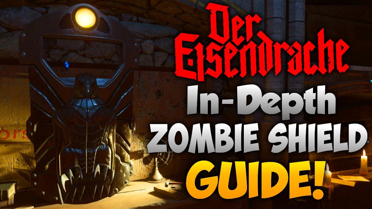 Der Eisendrache All Zombie Shield Part Locations In Depth