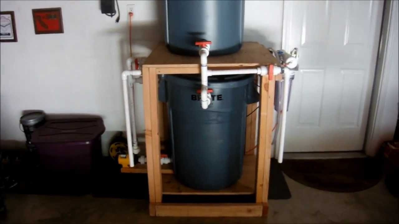 Saltwater Mixing Station Youtube